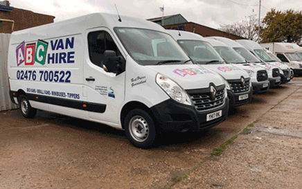Long Wheel Base Van Hire