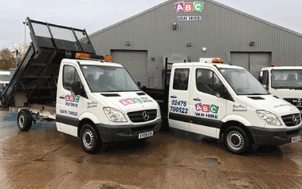 3.5 Tonne Tipper Truck Hire Coventry